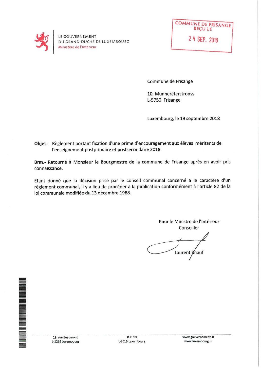Approbation règlement prime d'encouragement 2018 DEL18_114 (1)